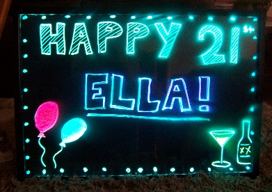 Led Sign Hire Adelaide Sa Party Hire